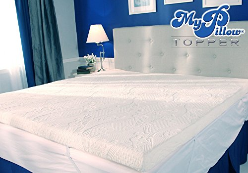 MyPillow My Pillow Three-inch Mattress Bed Topper Queen