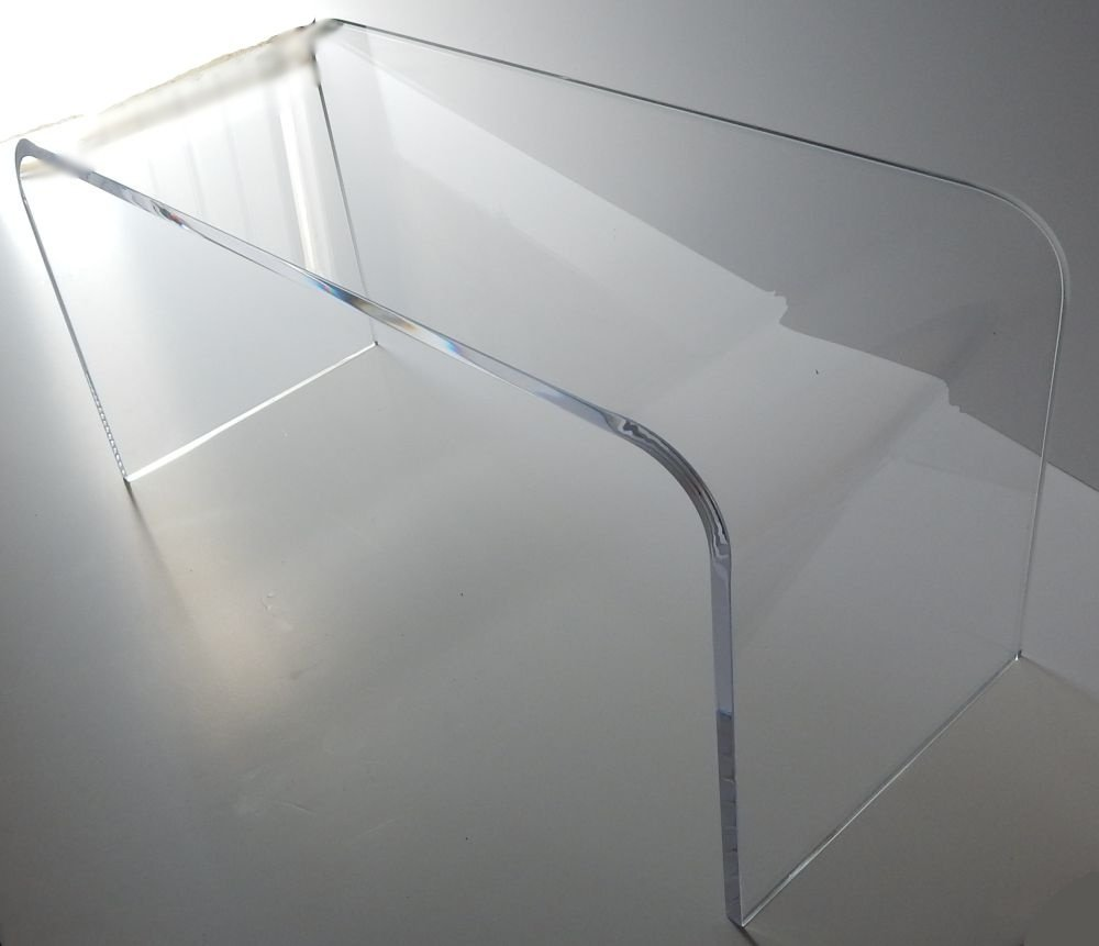 amazoncom acrylic coffee waterfall table lucite  long x  x  - amazoncom acrylic coffee waterfall table lucite  long x  x  highkitchen  dining