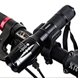 Bike Headlight Super Bright LED Bicycle Light Set Flashlight Cycling Safety Bicycle Headlamp with Lamp Holder