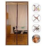 Decha Reinforced Mesh Magnetic Screen Mesh Door Full Frame Velcro Fit Door Up To 35''x83''