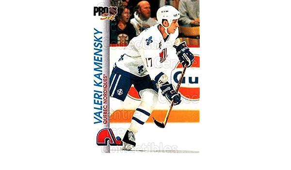 5c4eb84e3f7 Amazon.com  (CI) Valeri Kamensky Hockey Card 1992-93 Pro Set (base) 148 Valeri  Kamensky  Collectibles   Fine Art