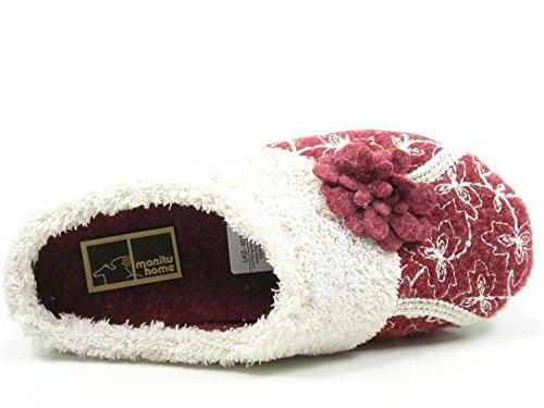 320513 Mujer Zapatillas Manitu Rojo 9 fZwSfxd