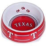 Sporty K9 Texas Rangers Dog Bowl, Small, My Pet Supplies