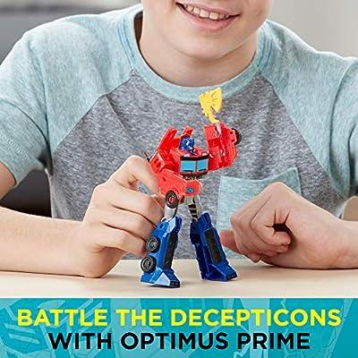 Transformers  Cyberverse Warrior Class Optimus Prime: Toys & Games