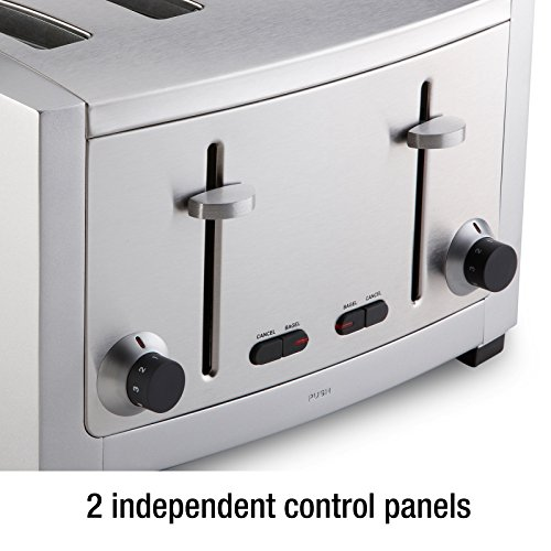 All Clad Tj804d Stainless Steel 4 Slot Toaster With 6