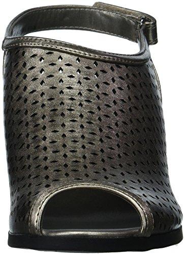 Cinturino In Pelle Di Sandalo Apelico Con Zeppa