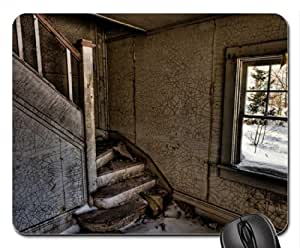 Abandoned Place Mouse Pad, Mousepad (Houses Mouse Pad) by mcsharks