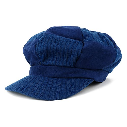 Knit Newsboy Hat Pattern - 6