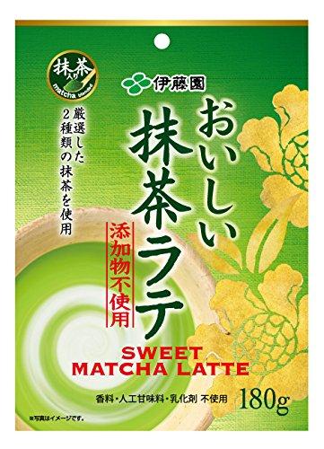 Ito En additive-free delicious Matcha Latte 180g Ltd. 17413