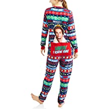 Elf Women's Drop Seat Union Suit Pajamas