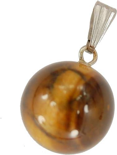 Necklace Natural Tiger/'s Eye Gemstone Tiger Amulet Pendant