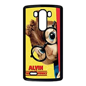 Alvin and the Chipmunks LG G3 Cell Phone Case Black R3350592