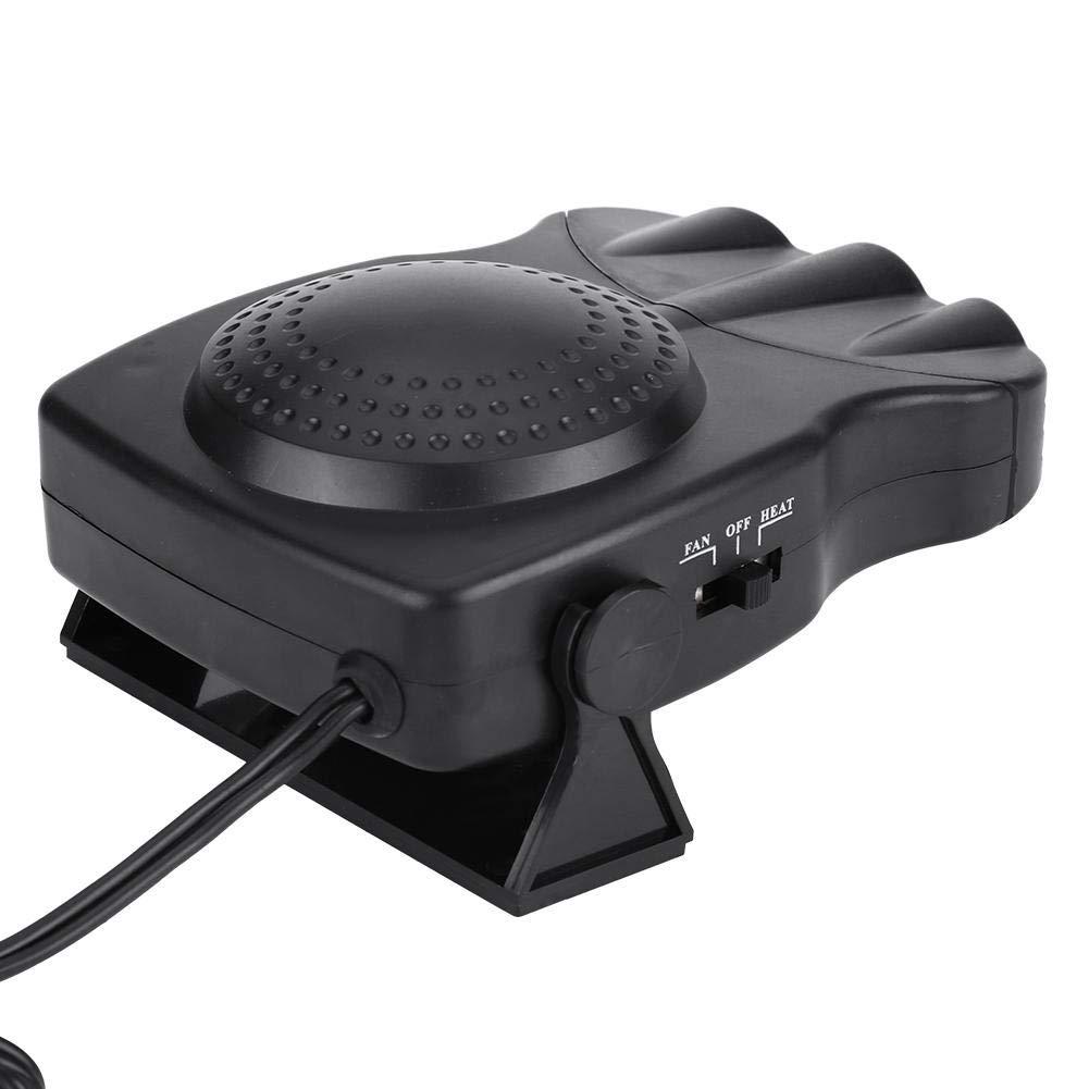 12V 150W Calefacci/ón del veh/ículo Ventilador de enfriamiento Parabrisas del autom/óvil Descongela el calentador de cer/ámica Descongelador del calentador del coche