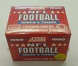 1990 SCORE NFL FOOTBALL ROOKIE & TRADED SEALED SET