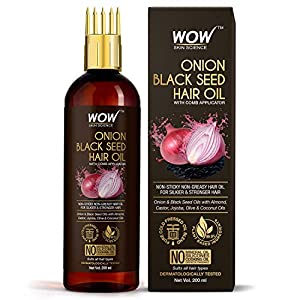 Best WOW Skin Science Onion Hair Oil India