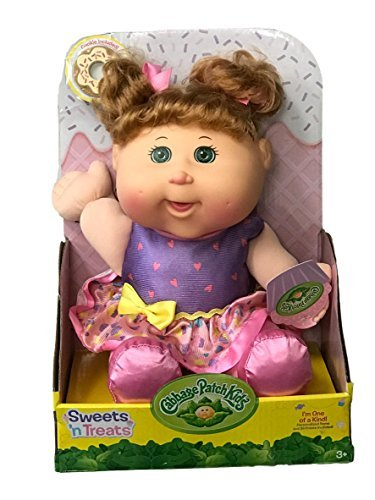 Cabbage Patch Kids Sweets 'n Treats Baby Doll (Med. Blonde, Green Eyes)