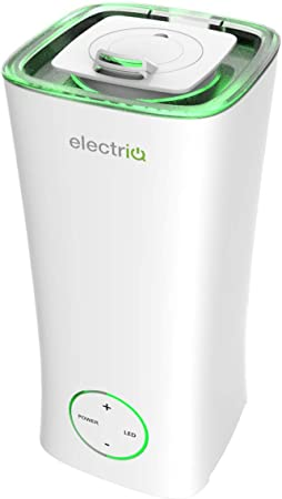 electriQ 2L Cool Mist Humidifier with Aroma Therapy Function and Ambient Light. Up to 10 Hours Continuous use