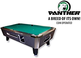 """product image for Valley Coin Op Panther Pool Table - 88"""" - Charcoal"""
