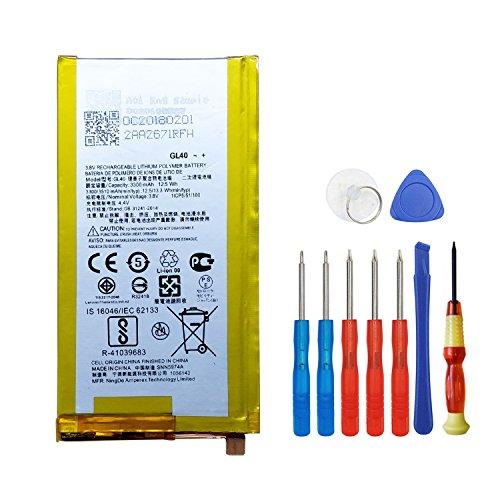 E-yiiviil GL40 SNN5974A 3300mAh 3.8V Internal Battery for Motorola Moto Z Play Droid XT1635