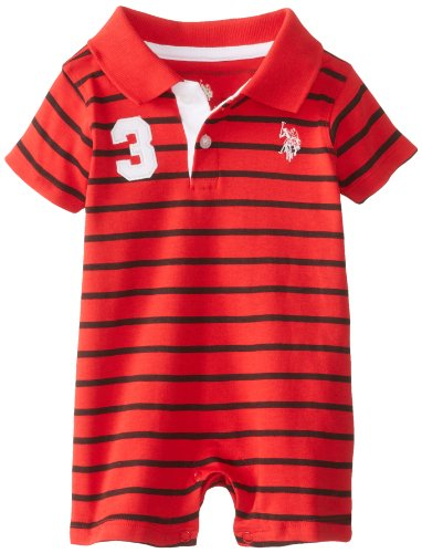 Polo Assn Baby Boys Rompers U.S
