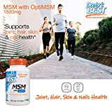 Doctor's Best MSM with OptiMSM, Non-GMO, Gluten