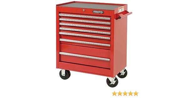 Hilka PMT111 Professional 7 Drawer Rollaway Cabinet w685 h955 d465cm