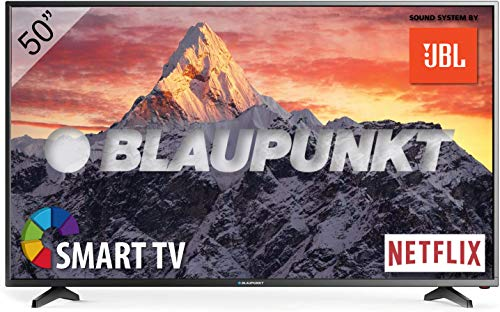🥇 Televisor Smart TV LED 50″ – 50 Pulgadas 4K Ultra HD UHD WiFi – Blaupunkt BLA-50/405V-GB-11B4-UEGBQPX-EU