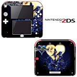 Kingdom Hearts Decorative Video Game Decal Cover Skin Protector for Nintendo 2Ds