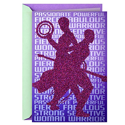 Hallmark Mahogany Black Panther Card for Her, This is Your Time (Birthday, Encouragement, Congratulations) ()