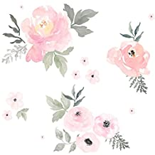 Sweet Blush Roses by shopcabin - Custom Fabric with Spoonflower - Printed on Minky Fabric by the Yard