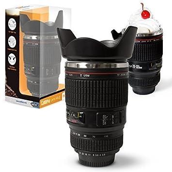 Twitfish® Tasse En À Forme D'objectif Camera Mug Lens Café 7gbf6y