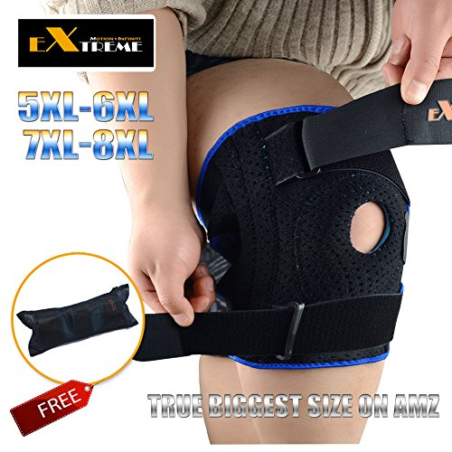 The TRUE BIGGEST Size Knee Brace Support on Amazon for ...