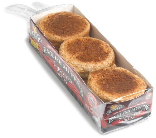 Food For Life, Sprout 7 Grain English Muffins, Organic, 16 oz (Frozen)