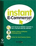 Instant E-Commerce, GoDaddy Software Staff, 078212917X