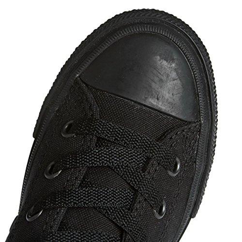Converse Chuck Taylor All Star II Junior Black Monochrome Textile Trainers Black Monochrome