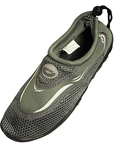 The Wave - Mens Aqua Shoe, Grey 37134-12D(M)US from The Wave