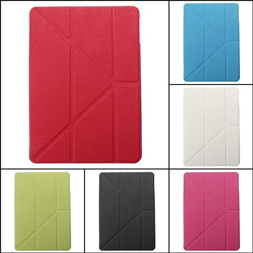Ultra Slim Smart Magnetic Leather Stand Gel Case For iPad Air.