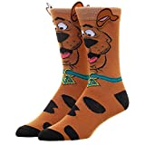 Scooby Doo Socks Men's Adult Crew Socks with Scooby Ears