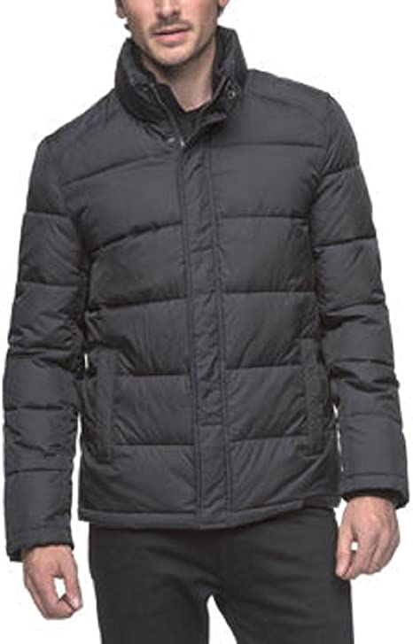 Andrew Marc Men's Puffer Jacket Black M L XL Water Resistant Wind Protection New