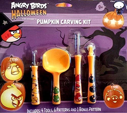 Angry Birds Pumpkin Carving