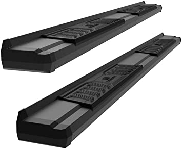 """For 6/"""" OE Style 2019 Ram 1500 Crew Cab Black Side Steps Nerf Bars Running Boards"""