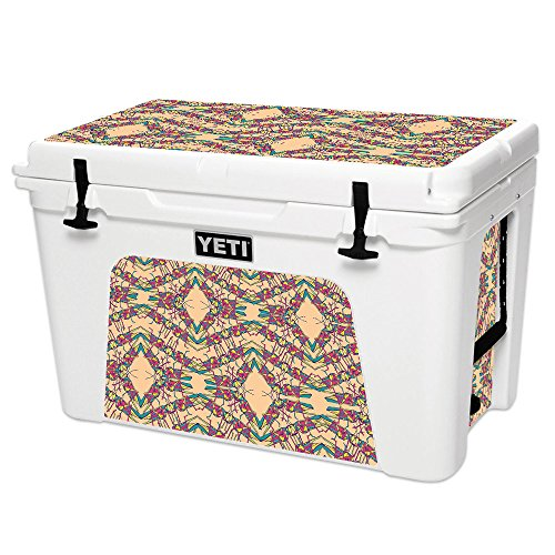 (MightySkins Skin for YETI Tundra 105 qt Cooler - Grass Hopper | Protective, Durable, and Unique Vinyl Decal wrap Cover | Easy to Apply, Remove, and Change Styles | Made in The USA)