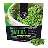 Jade Leaf Matcha Green Tea Powder - USDA Organic, Authentic Japanese Origin - Classic Culinary Grade (Smoothies, Lattes, Baking, Recipes) - Antioxidants, Energy [30g Starter Size]: more info