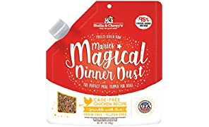 Stella & Chewy's Freeze-Dried Raw Marie's Magical Dinner Dust Cage-Free Chicken Recipe Dog Food Topper, 7 oz