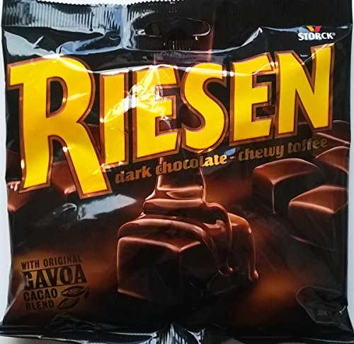 riesen chocolate toffee 45g 5 pack amazon co uk grocery