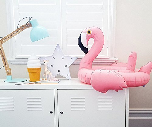 Oima Baby Flamingo Inflatable Pool Float – Inflatable Baby Infant Flamingo Swim Ring Pool Float – Popular Baby Infant Swimming Toy – Learn Swimming For Baby Infants