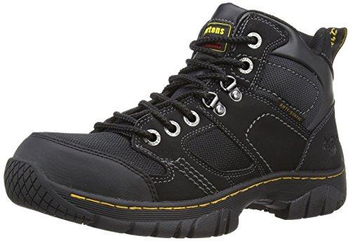 de Adulte Martens Benham Dr Mixte Chaussures Sécurité Noir Industrial 4pSIBwqH