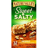Nature Valley Sweet and Salty Peanut Chewy Nut Bars, 32-Count, 1120 Gram