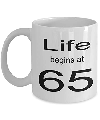 Image Unavailable Not Available For Color 65 Year Old Mug