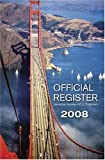 Official Register 2008, American Society of Civil Engineers, 0784409595